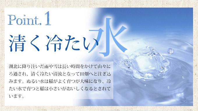 清く冷たい水