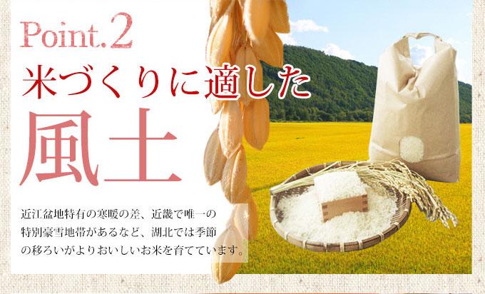 米づくりに最適な風土