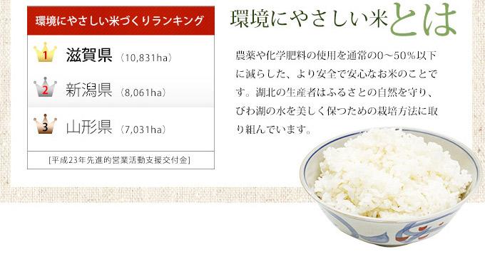 環境にやさしい米とは